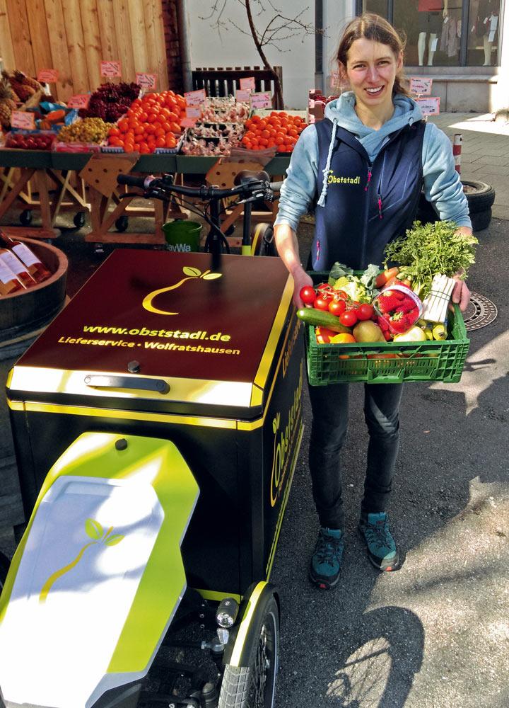Auslieferung der Lebensmittel-Bestellung in Wolfratshausen und Umgebung